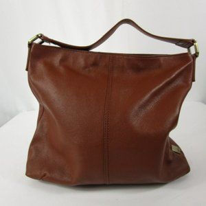 Large Brown Leather Bag By Kooba